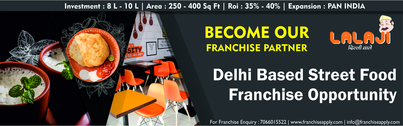 admin/photos/Lala Ji Dilli Wale ( Street Food Franchise Opportunity )