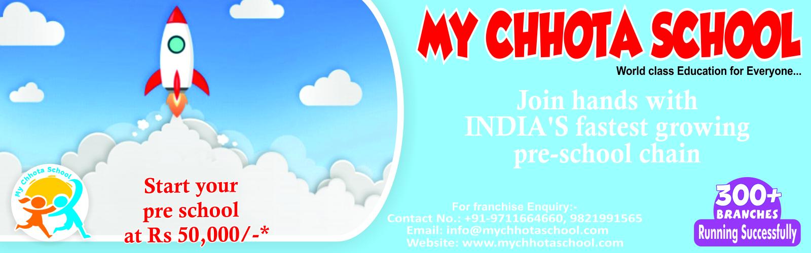 admin/photos/My Chhota School ( Leading Pre School Chain )
