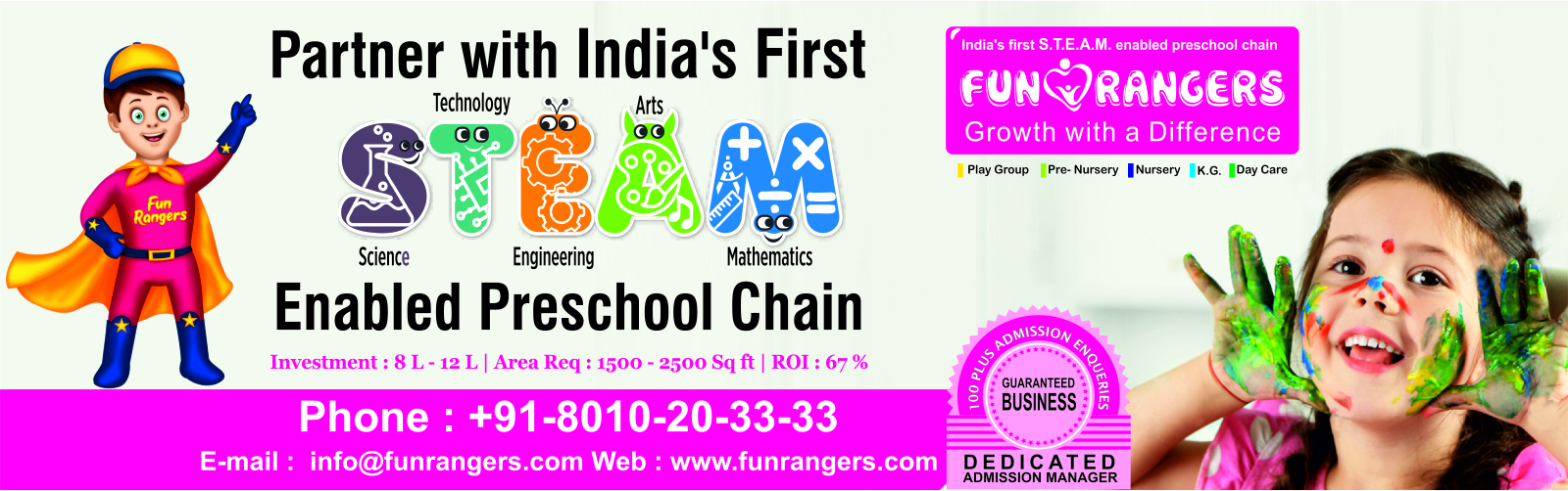 admin/photos/Fun Rangers ( India's Growing Pre School Brand Chain )