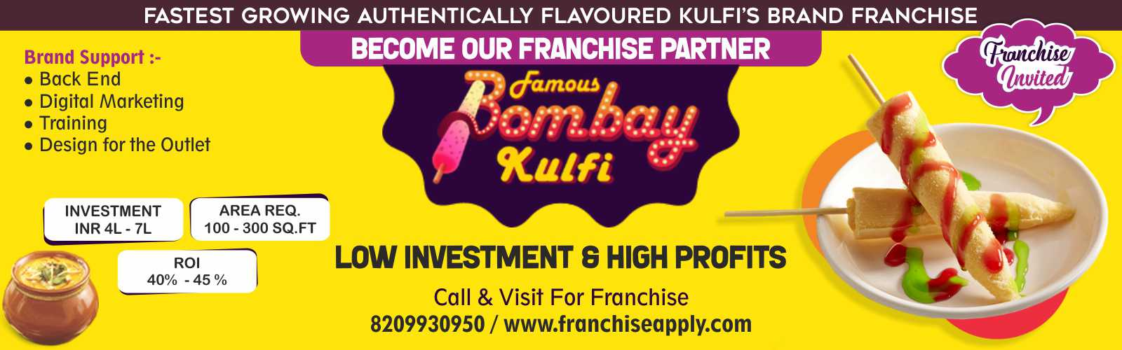 admin/photos/Famous Bombay Kulfi ( India's Growing Kulfi Brand )
