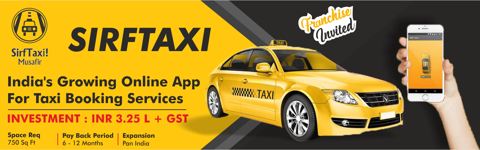 admin/uploads/brand_registration/SirfTaxi ( India's Growing Online App For Taxi Booking )