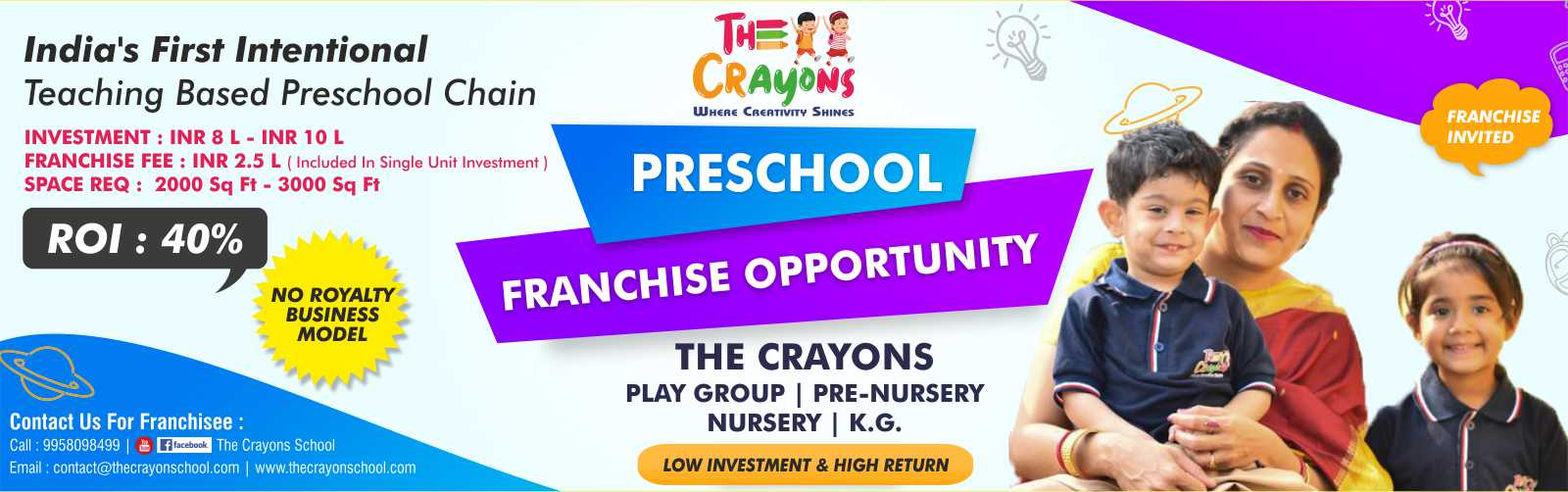 admin/uploads/brand_registration/The Crayons School ( India's Leading Pre School Franchise Opportunity )